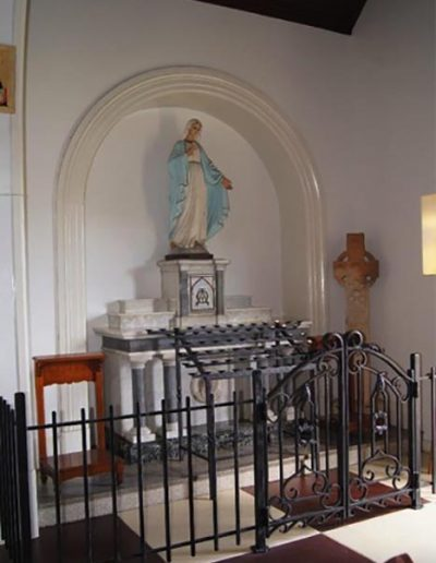 Southern side chapel, St Columba's Wilston