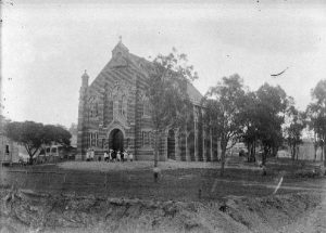 St Columba's Church shortly after construction c.1914 (BCC)